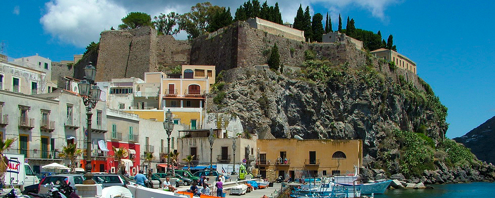 Castle - Marina Corta square - Lipari(ME) - Aeolian Islands